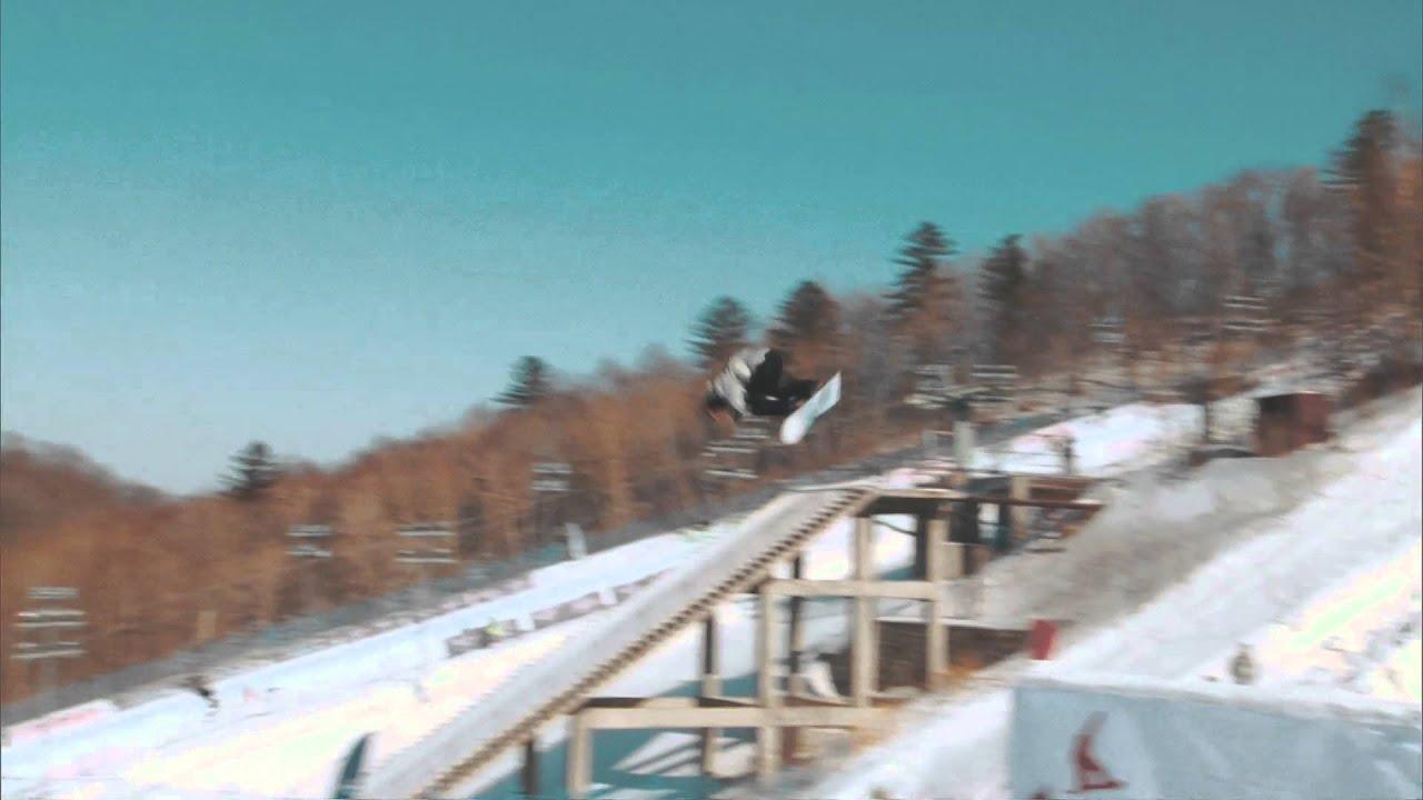 Corona world championships of snowboarding 2016 - big air semi finals - laurie blouin