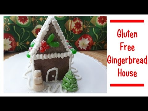 Making a Gluten Free Gingerbread House