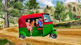 Modern Tuk Tuk Rickshaw Driving - Mountain Auto Driver 2021- Android GamePlay screenshot 2