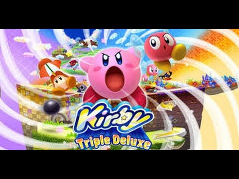 Kirby: Triple Deluxe Full game playthrough/walkthrough