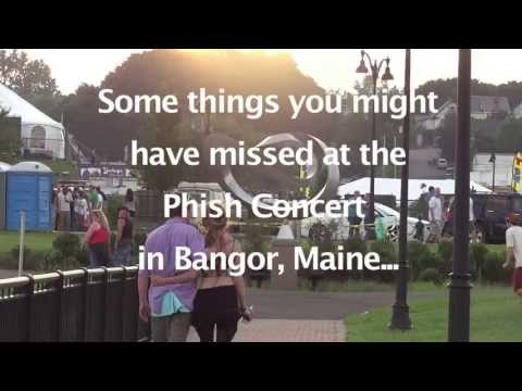 Phish Tour 2013 - Bangor Maine - Waterfront Concerts