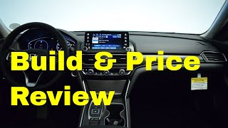 2019 Honda Accord Touring 2.0T 10-Speed Automatic - Build & Price Review: Interior, Colors, Features