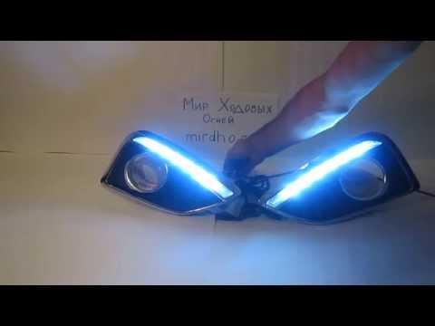 ДХО для Hyundai ix35 полоса от МирДХО