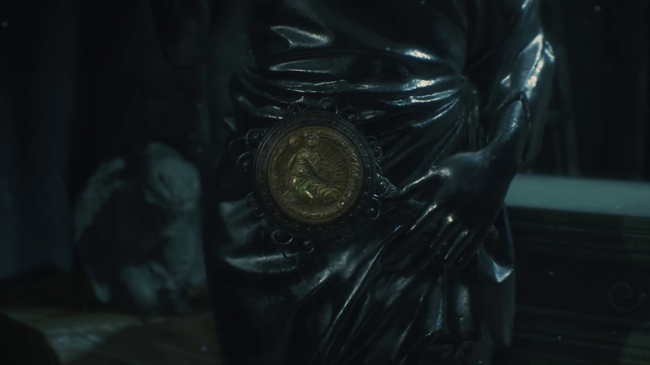 Where To Find The Three Medallions In Resident Evil 2 Youtube