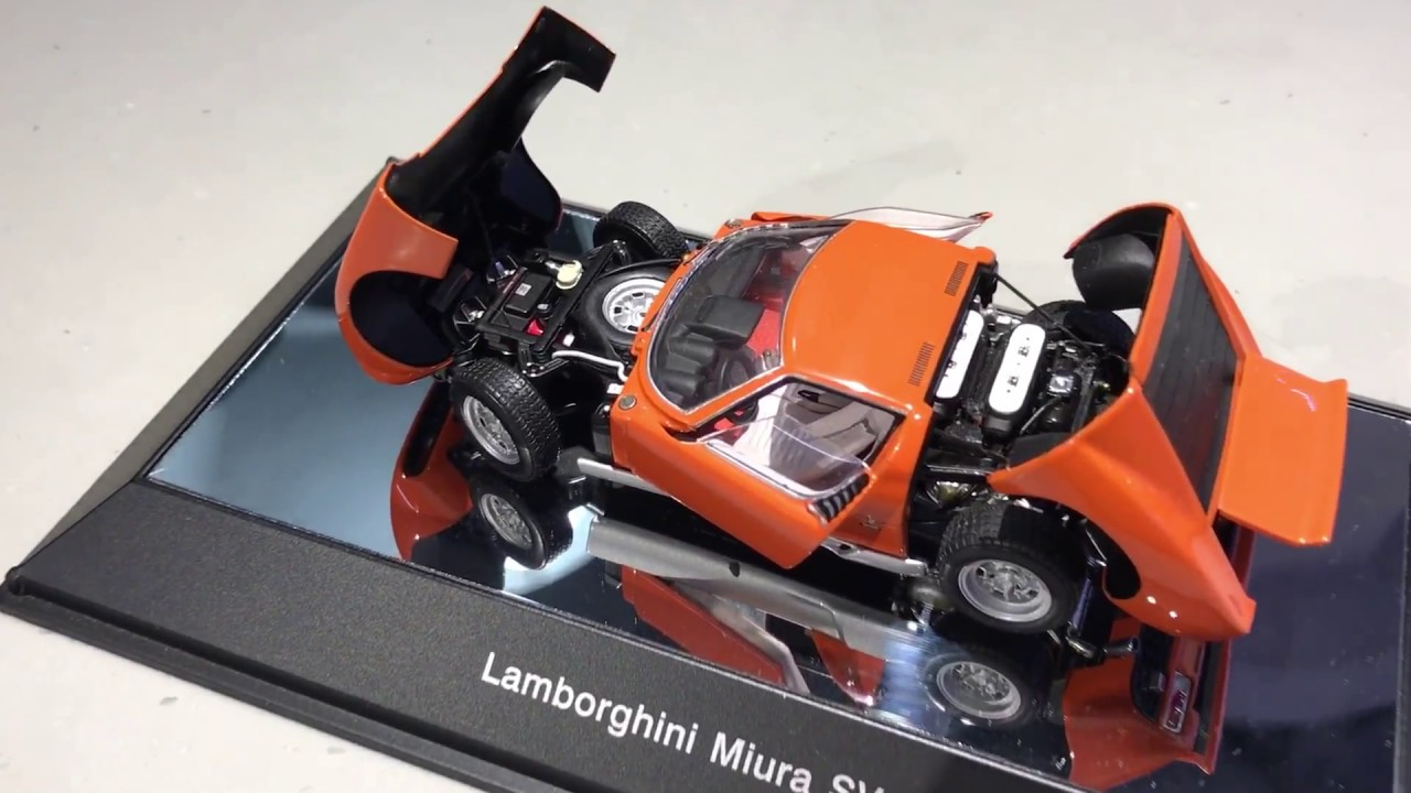 Autoart 1 43 Lamborghini Miura With Full Opening Youtube