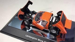 AUTOart 1:43 Lamborghini Miura with full opening