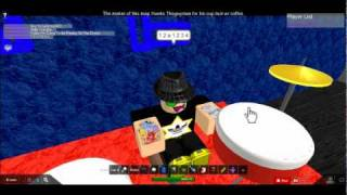 How To Play The Drums On... ROBLOX!!!