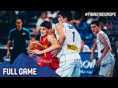 Serbia v Spain - Full Game - FIBA U18 European Championship 2017