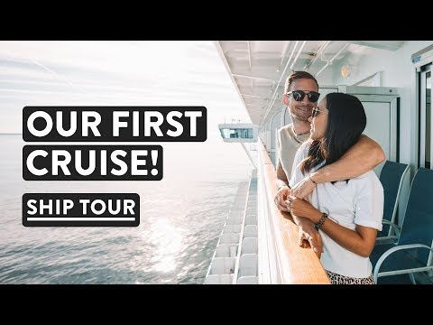 CRUISE SHIP TOUR! Exploring Sapphire Princess | Southampton Princess Cruises Vlog #1