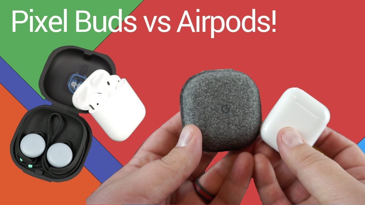 Compare: Google Pixel Buds vs Apple Airpods!