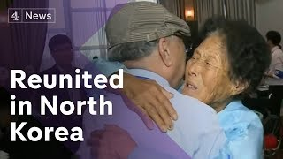 Korean families reunite in North after 70 years