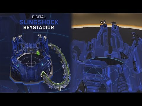 NEW HASBRO SLINGSHOCK STADIUM GAMEPLAY | Beyblade Burst Evolution God APP Gameplay PART 65