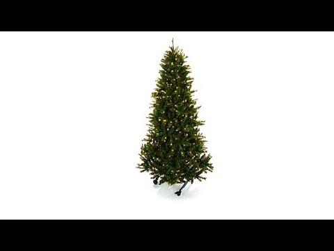 Grow and Stow 6' to 71/2' PreLit  Christmas Tree