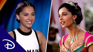 The Cast of Aladdin Tells Us Their Favorite On-Set Moments | Disney