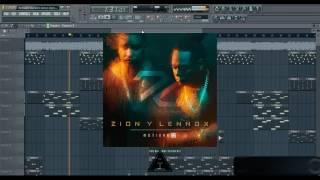 Zion y Lennox - Nuestro Amor Ft Maluma  | Instrumental Remake | By Aitron