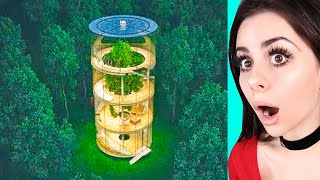 CRAZY Houses You Won't Believe Exist !
