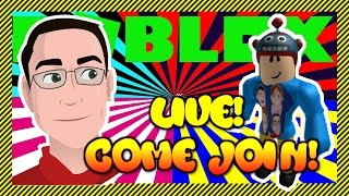 ROBLOX | Roblox Live! - Come Join and Play Some Games! - Game Variety - Changing Games and Servers