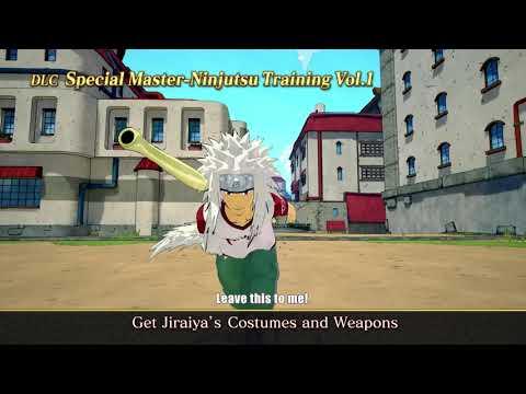 Jiraiya joins Naruto to Boruto: Shinobi Striker – Ulvespill