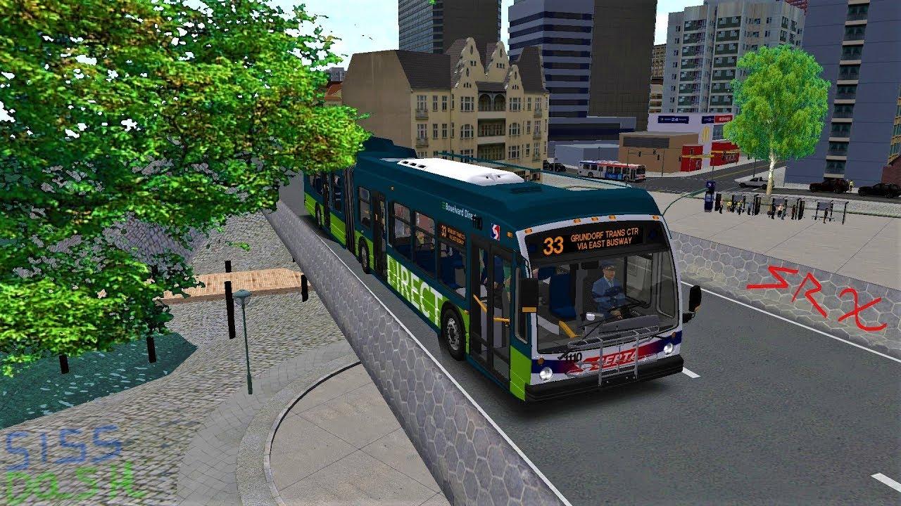 Omsi 2 - Grundelphia - Route 33 Penns Landing To GTC Via Busway [Septa  Bouelvard Direct]