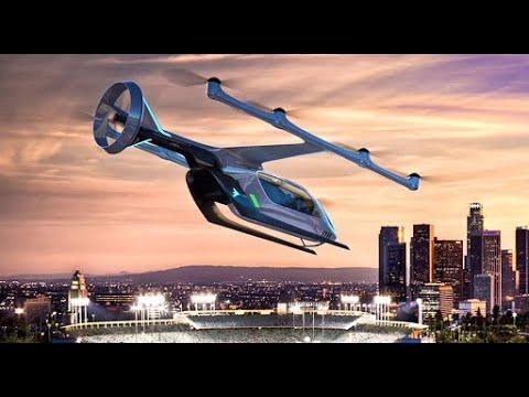 Будущее авиации - летающие такси и электрические самолеты
