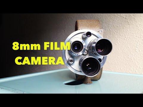 Retro Bell & Howell 8mm Film Camera