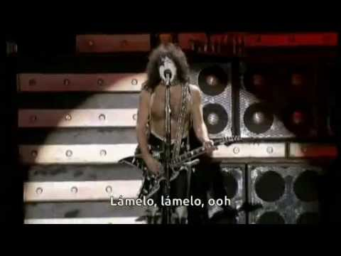 Kiss  Lick It Up Subtitulos en español