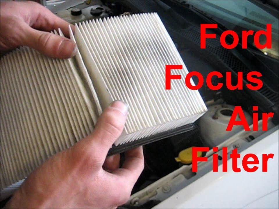 When To Change Air Filter >> How To Replace Ford Focus Engine Air Filter Youtube