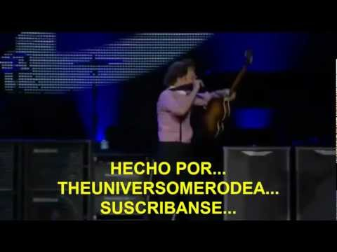 Paul McCartney- A Day In The Life/ Give Peace A Chance (Zocalo,Mex) Subtitulada Español