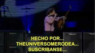 Paul McCartney- A Day In The Life/ Give Peace A Chance (Zocalo,Mex) Subtitulada Español