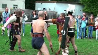 Provocator vs Murmillo