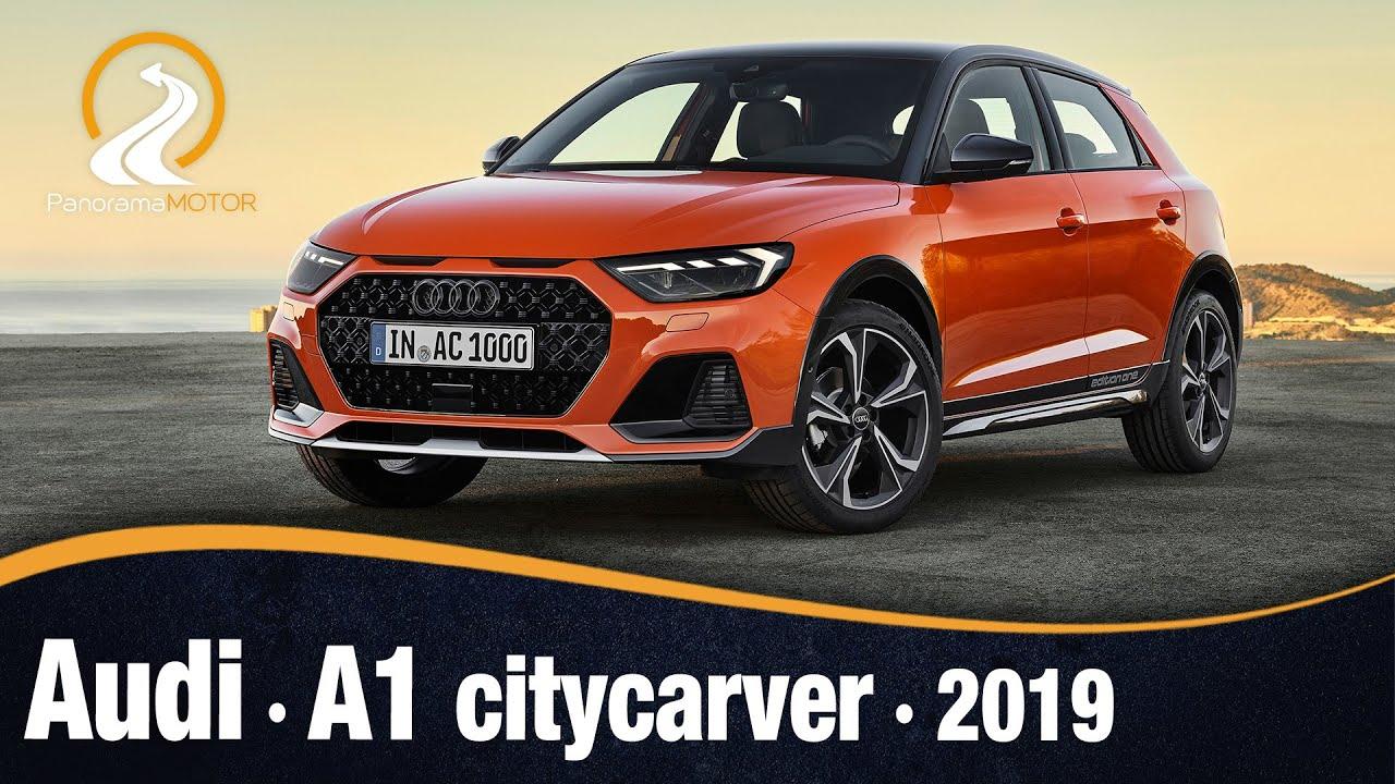 Audi A1 Citycarver 2019 Primeras Imagenes E Informacion Youtube
