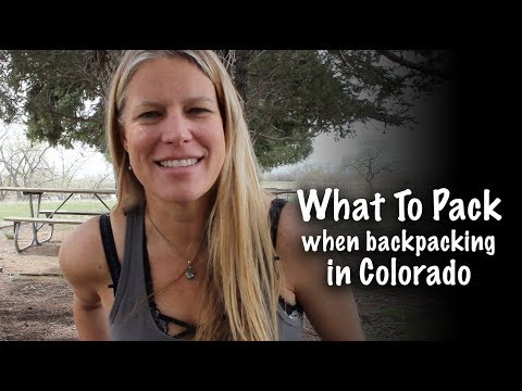 BACKPACKING - What To Pack In Your Backpack in Colorado - Season 2 -Ep#31