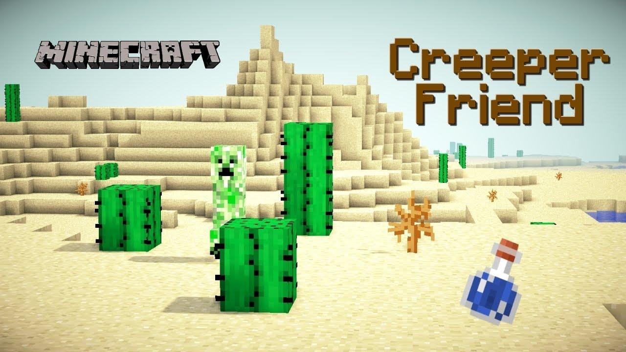 Creeper Friend - Minecraft Movie Trailer - YouTube
