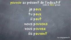 pouvoir au présent de l'indicatif - La-conjugaison.fr