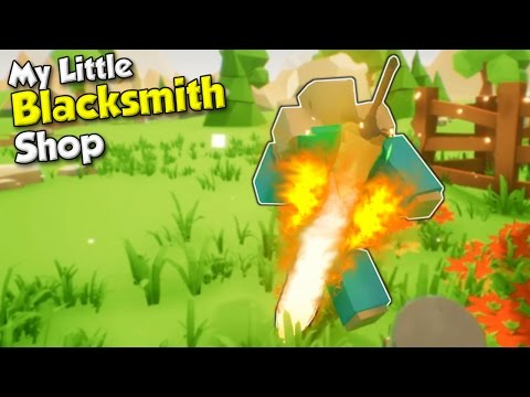 GLOWING SWORD CATCHES FIRE! - My Little...