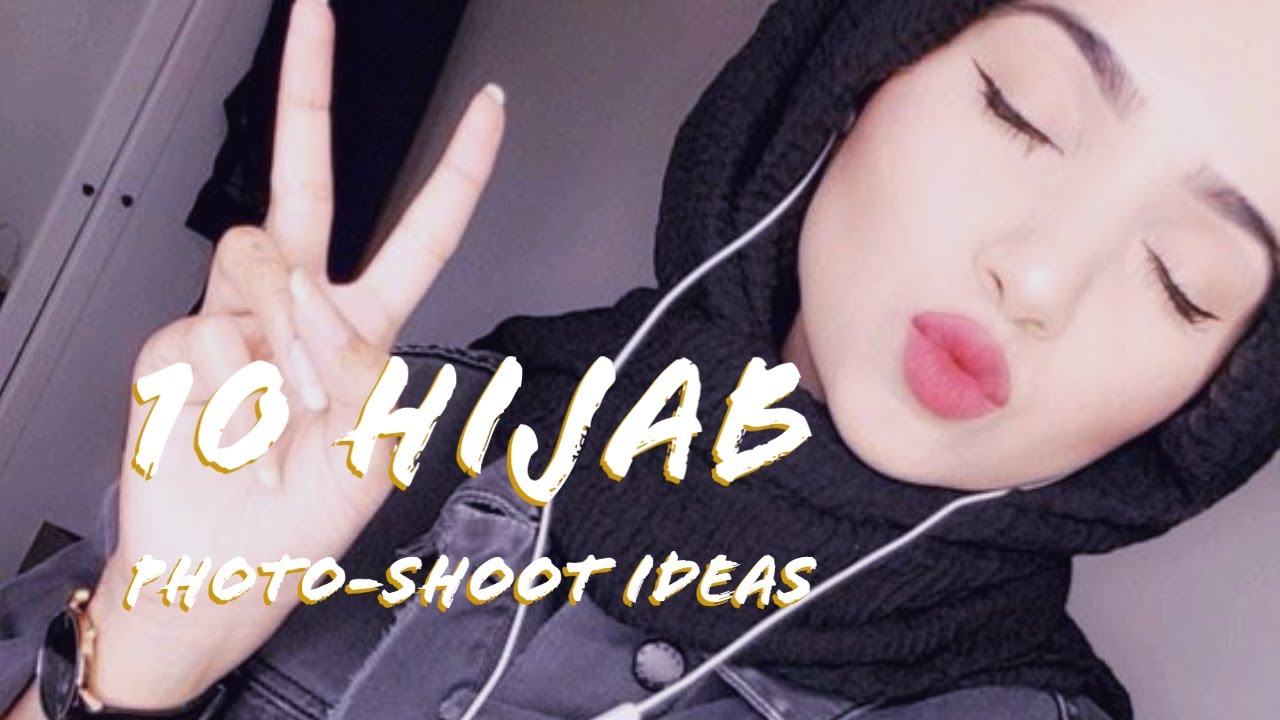 Download 10 Hijab Photo-shoot pose ideas//Dp'z For hijabi Girl'z// how to pose in hijab?