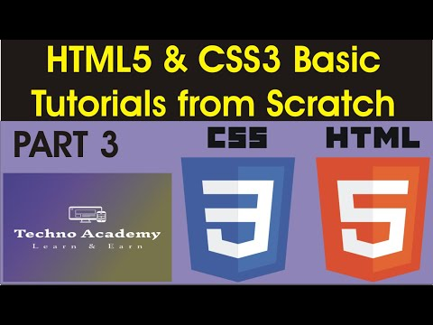 Tutorial  #3 for Beginners  How to build web pages with HTML, CSS, Javascript thumbnail