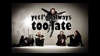 sonata arctica losing my insanity lyric video