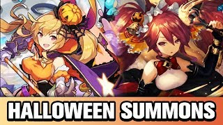 PLEASE GIMME ELLY! HALLOWEEN FANTASIA SUMMONS | Dragalia Lost