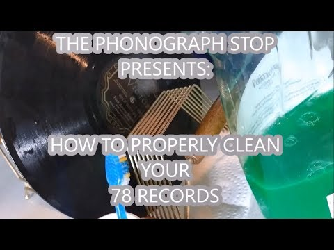 The Simple How To On Cleaning Your Shellac 78rpm Records