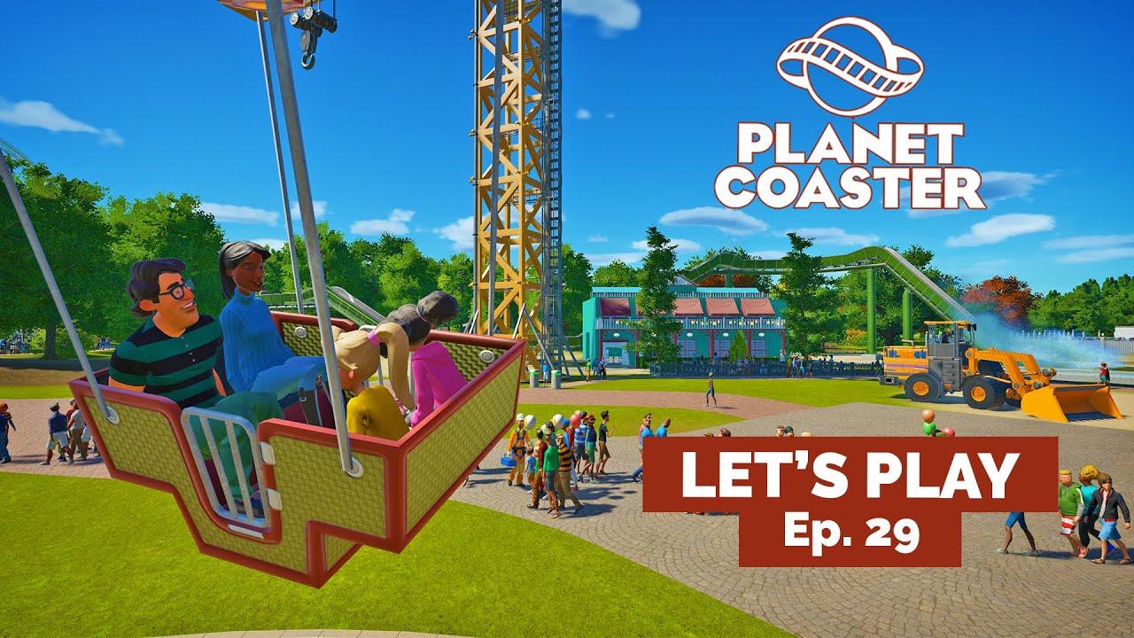 😲 Louisiane et... CONTEST ! - Let's Play FR Planet Coaster EP29