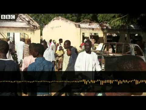 BBC News   Nigeria school blast in Potiskum kills dozens