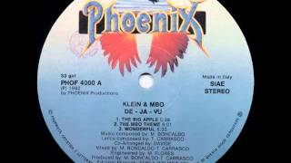 Klein & MBO - The Big Apple (Album Version HQ Audio) 1982