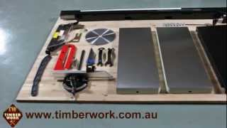 Harvey Table Saw Assembly And Operation, Timber Work