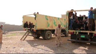 أخبار عربية - أخبار الآن ترصد هروب الأسر الموصلية من أحياء يحتلها داعش