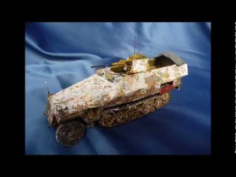Dragon Sd.Kfz.251/17 Schwebelafette (building review)