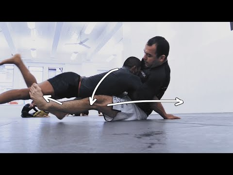 Marcelo Garcia - Sparring Analysis: The Short Hook Sweep