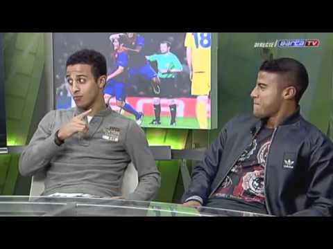 Interview with Thiago and Rafinha Alcantara [ENGLISH SUBTITLES]