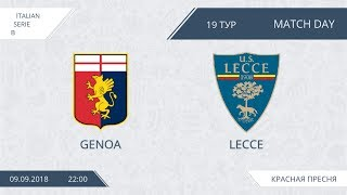 AFL18. Italy. Serie B. Day 19. Genoa - Lecce