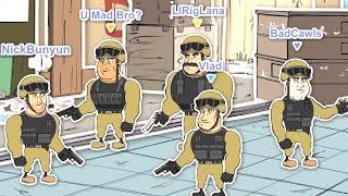 CS GO Cartoons Ep 1 - Typische CSGO Team